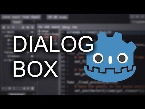 Godot Tutorial - Dialog Box