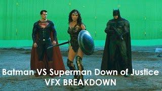 Batman vs Superman Down of Justice VFX Breakdown