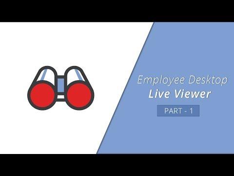 How to install Agent - Employee Desktop Live Viewer Part -1