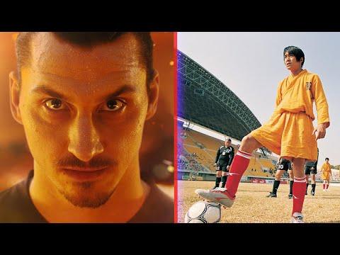 Real Footballers VS Movie CGI - Shaolin Soccer