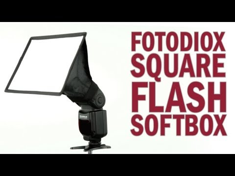 Square Flash Softbox from Fotodiox Pro: A Miniature Softbox for Your Flash