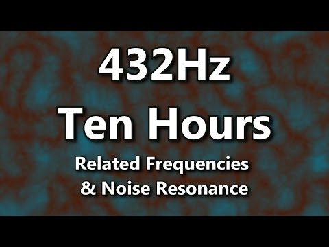 432 Hz Tuned Noise and Resonance. Is it Earth's