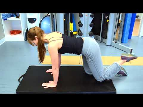 Back Pain Treatment - Core strength with Hip Extension