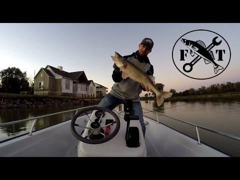 Fishing To Catch A Big Saugeye On Buckeye Lake In October