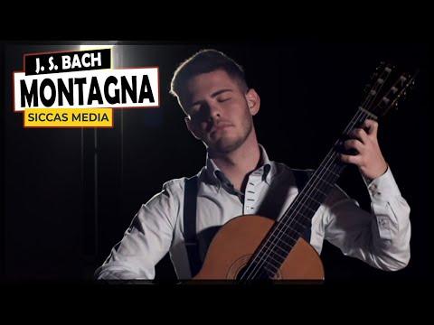 Siccas Media Presents Andrea Montagna - J. S. Bach Prélude BWV 1006a On A Classical Guitar