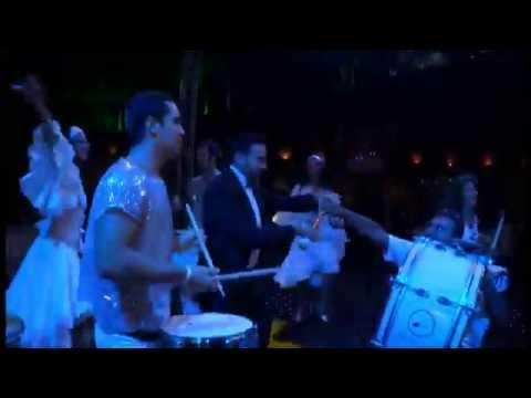 Brazilian Wedding Entrance - Part 1 - Bailando