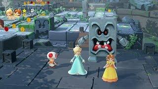 Super Mario Party Partner Party #390 Domino Ruins Treasure Hunt Rosalina & Daisy vs Peach & Bowser
