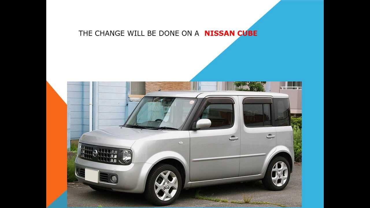 2011 nissan cube cabin air filter