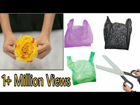 old plastic bag reuse ideas | Best out of waste | Art With Creation