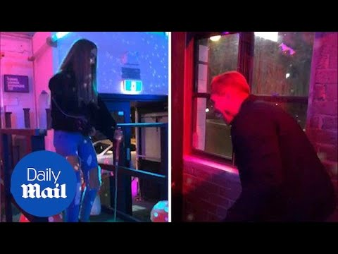 Love Island's Millie Fuller and Mark O'Dare enjoy game of mini golf - Daily Mail