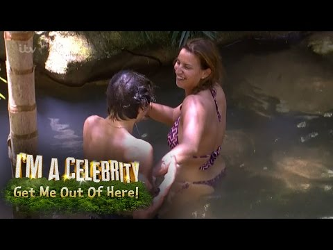 George Shelley & Ferne McCann Share A Moment In The Pool | I'm A Celebrity... Get Me Out Of Here!