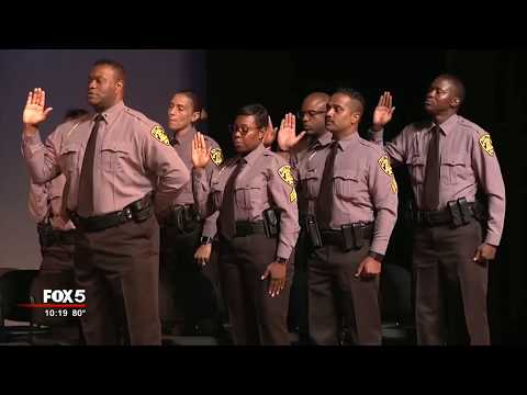 New South Fulton Police Chief sworn in
