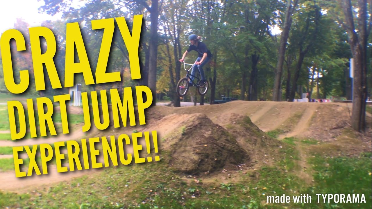 taking dirt jumps to the next level youtube