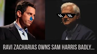 Atheist Sam Harris DESTROYED by Ravi Zacharias...