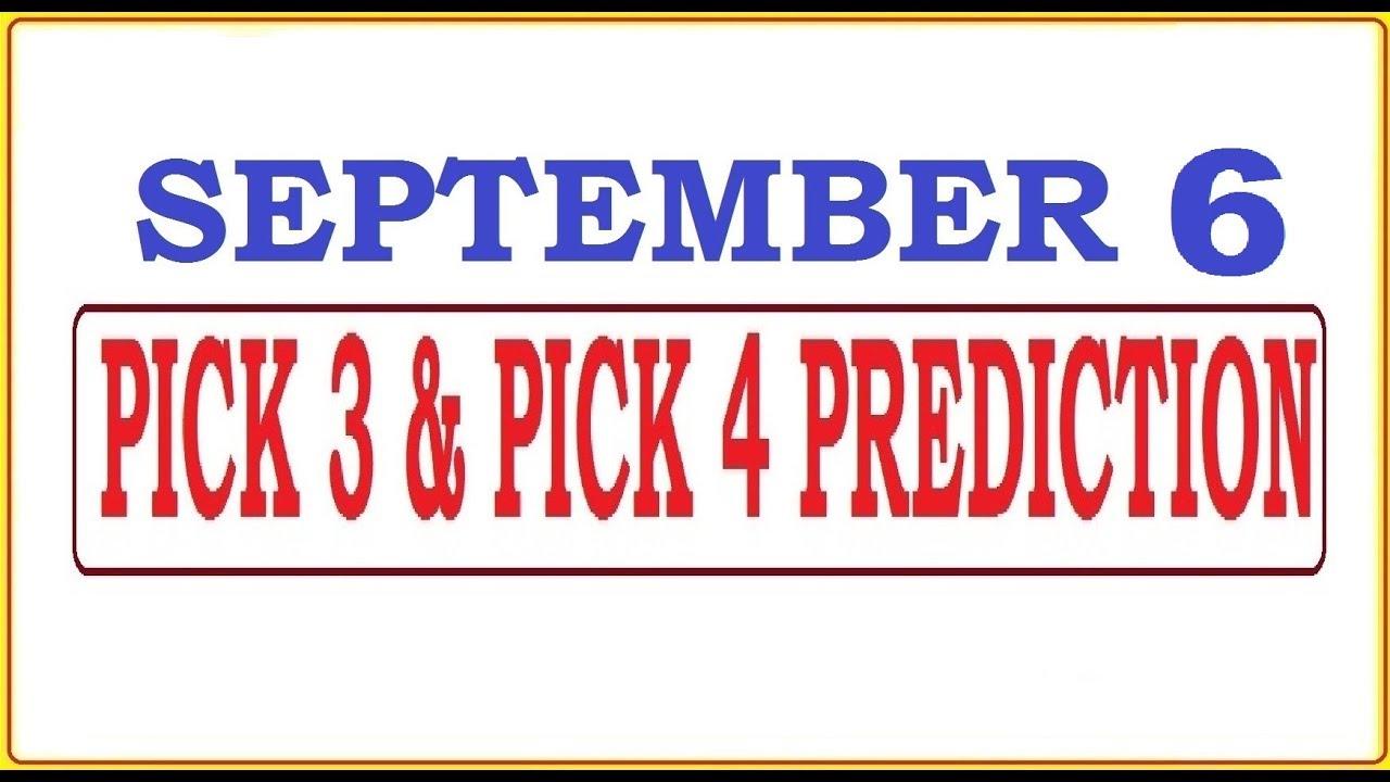 Pick 3 & Pick 4 Lottery Winning Number Analysis & Prediction - September 6,  2019