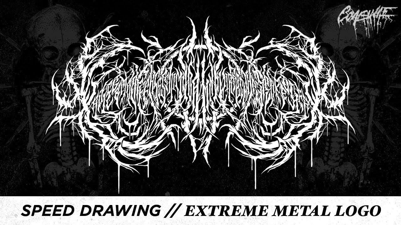 CRMla: Death Metal Band Logos Meme