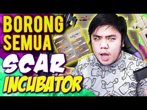 BORONG SEMUA SCAR SULTAN INCUBATOR!! GAPAKE LAMA! RIP CUPID! - Free Fire Indonesia #120