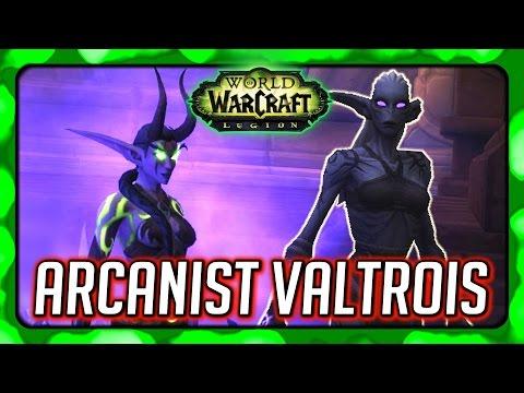 WOW Legion 🌟 Suramar Story - Meeting Valtrois & Thalyssra Almost Loses it