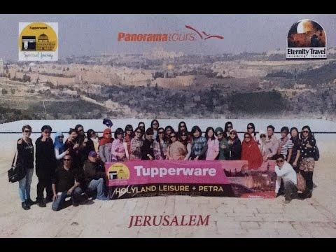 Tupperware MIT Israel Jerusalem \u0026 Jordan Petra 2017 Part 1