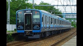 相模線向けE131系500番台G-02編成 新津出場試運転 2021.7.27