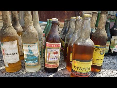 TOP СУПЕР НАХОДКИ в ПОГРЕБЕ ГАРАЖА алкоголь, серебро, времен СССР от RETRO ILYCH !!! КАПСУЛА ВРЕМЕНИ