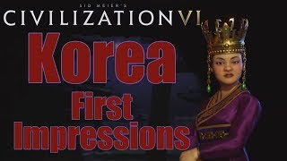 Video Civilization 6: First Impressions - Korea Civilization download MP3, 3GP, MP4, WEBM, AVI, FLV Januari 2018