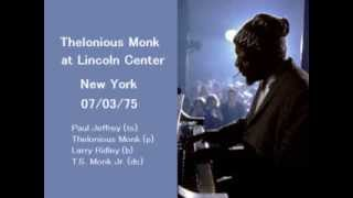 Thelonious Monk - The Last Concert 1975