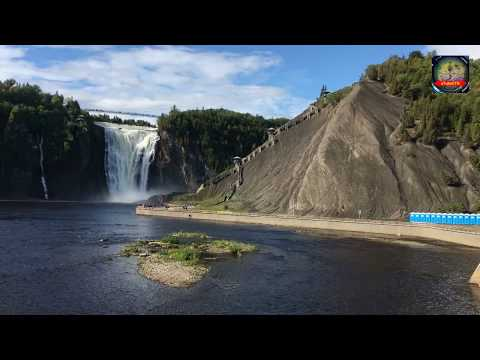 Trip to Quebec City Canada - Montmorency Falls | Travel Guide | uTubeCTG