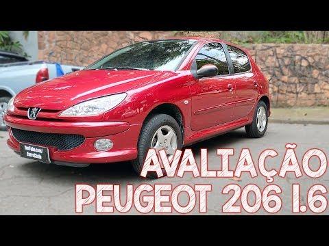 Avaliação Peugeot 206 1.6 2006 - É BOM OU É BOMBA?