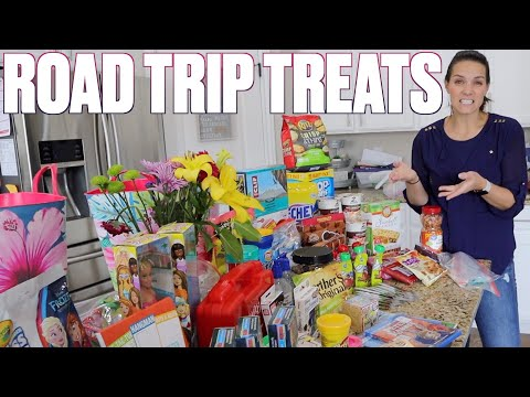 TRAVELING WITH FOUR KIDS | ROAD TRIP SNACKS AND HACKS | ENTERTAINING KIDS IN THE CAR ON A LONG DRIVE