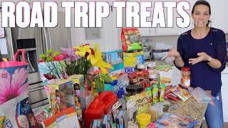 TRAVELING WITH FOUR KIDS | ROAD TRIP SNACKS AND HACKS | ENTERTAINING KIDS IN THE CAR ON A LONG DRIVE Video