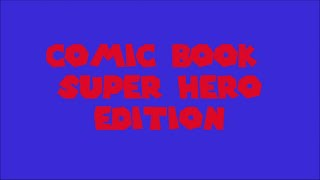 Television Theme Song Trivia Game - Comic Book Super Hero Edition