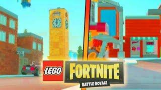 Fortnite: LEGO Battle Royale! | (LEGO Tilted Towers) | Fortnite Battle Royale