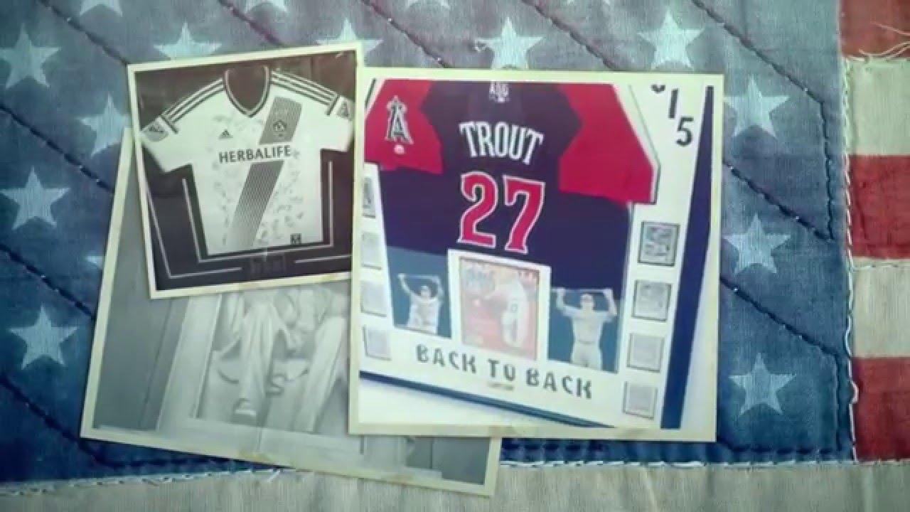 Jersey Framing in Orange County - Custom jersey frames - Newport ...