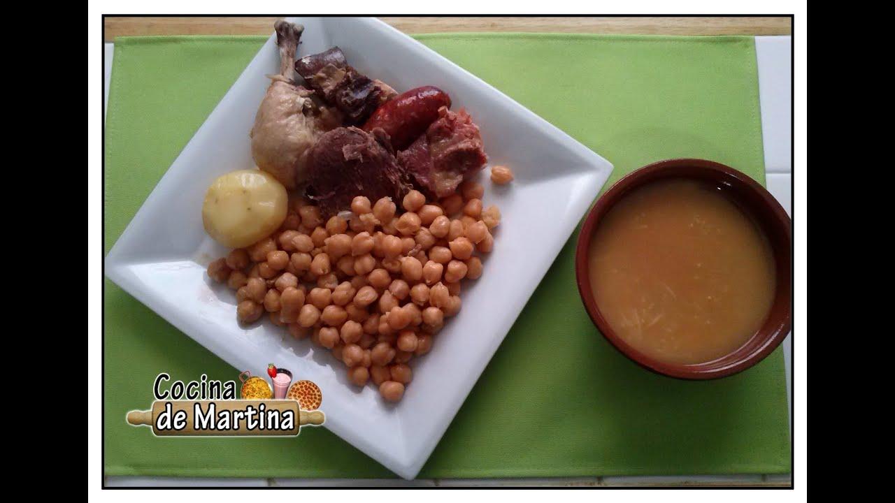 Cocido madrile o f cil en olla expr s recetas de cocina for Cocina de martina