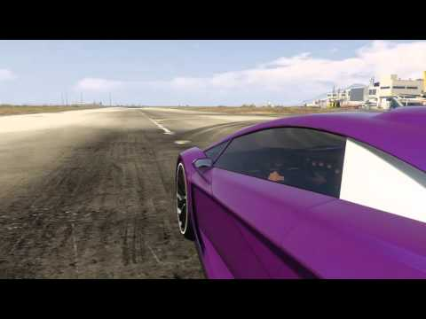 GTA Car Tests And Sounds - Pegassi Zentorno