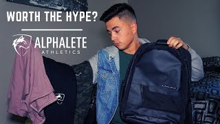 Alphalete Review | October Launch | Backpack, Joggers, & More