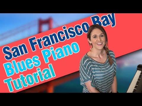 San Francisco Bay Blues Piano Tutorial