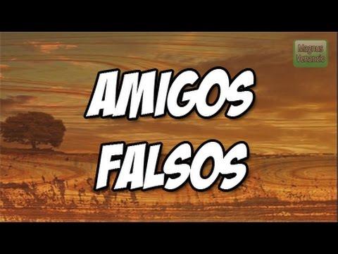 Estados y Frases para WhatsApp - Facebook #19 - Amigos falsos