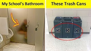 The Worst School Design Fails That Are So Dumb They Are Funny