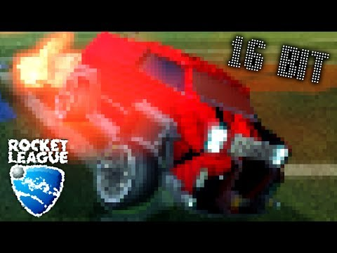 16 BIT ROCKET LEAGUE | MODDED ROCKET LEAGUE [WORST GRAPHICS CHALLENGE]