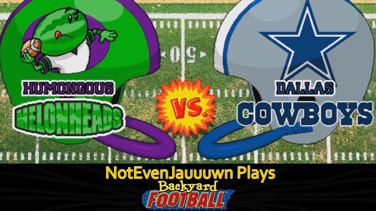 Game 1 (Season Opener) of Backyard Football | Dallas ...