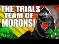 The Moronic Trials Team! (Funny Trials Run!)