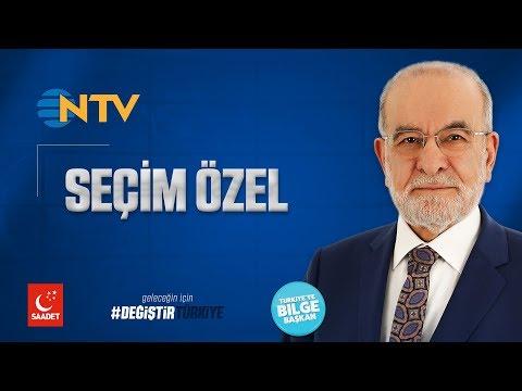 NTV - Seçim Özel   Cumhurbaşkanı Adayı Temel Karamollaoğlu - 06.06.2018