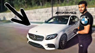 BMW Driver Drives A NEW Mercedes AMG *2019 E53*