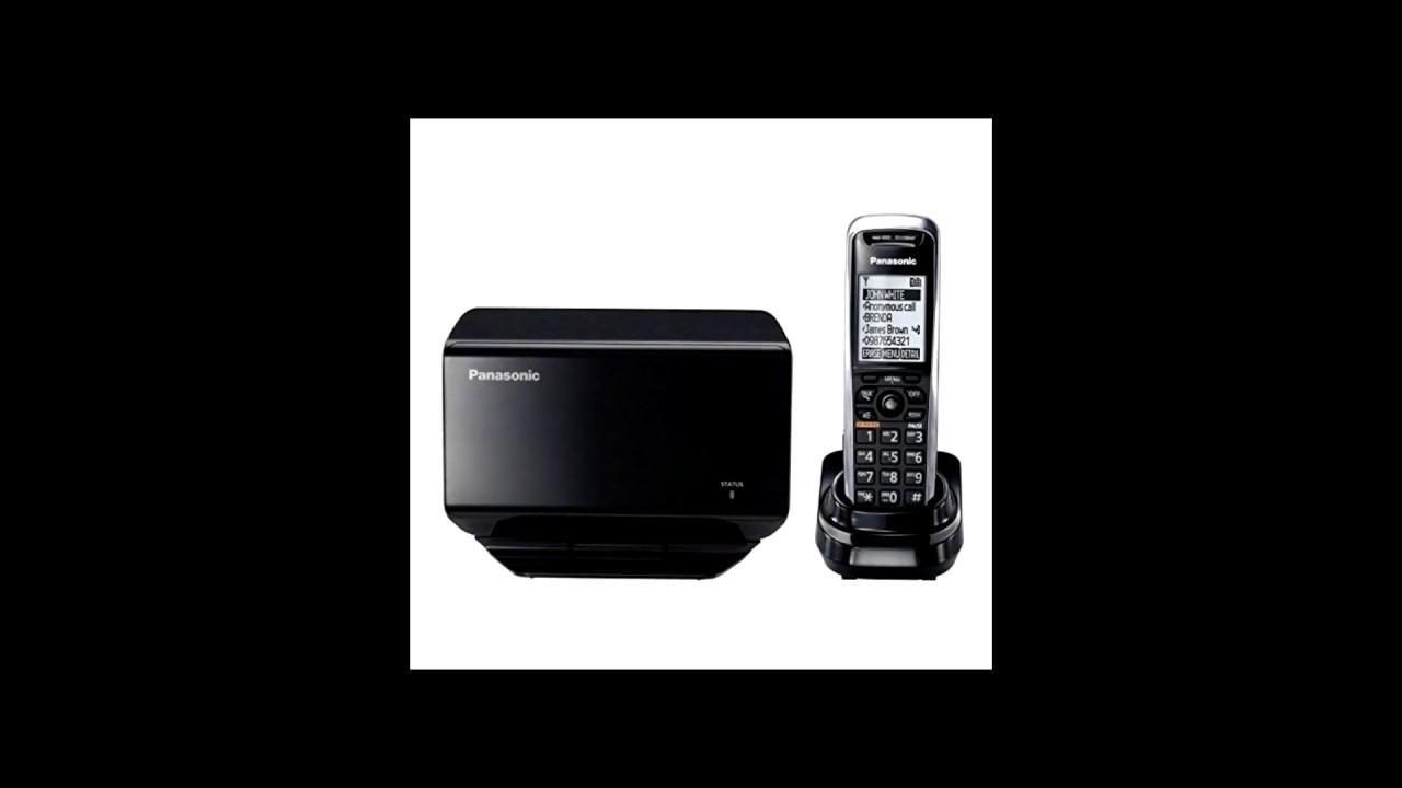 Panasonic KX-TGP500 VOIP RingCentral Setup - Cordless VOIP Phone - Wireless  IP Phone