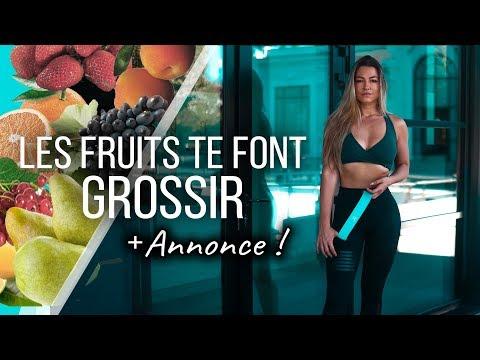 LES FRUITS FONT GROSSIR ? + Surprise !