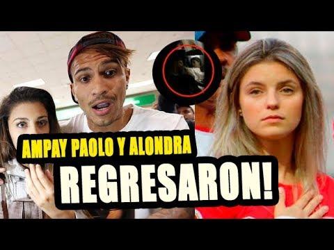 PAOLO GUERRERO Y ALONDRA GARCÍA MIRO REGRESARON Y COMIERON JUNTOS