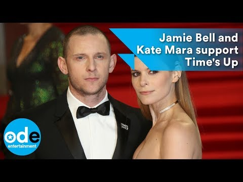 BAFTAs 2018: Jamie Bell and Kate Mara support Time's Up