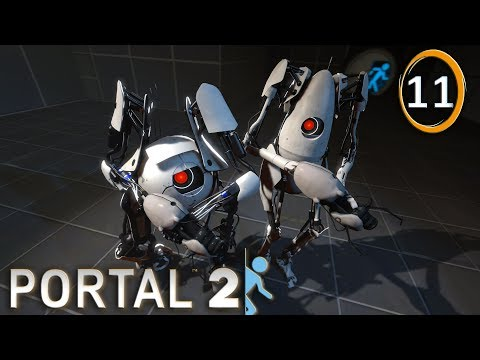 Portal 2 Coop : Super Sonic ! | 11 - Let's Play